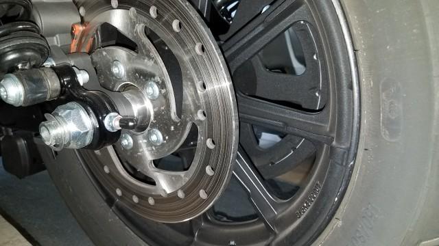 EVO: Wheels, Brakes & Tires - Sportsterpedia