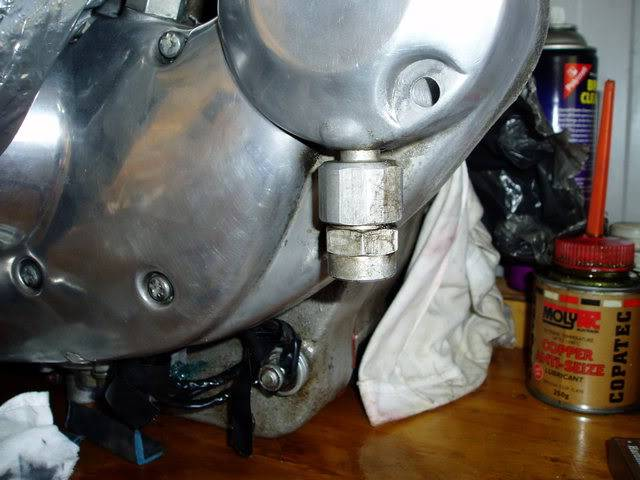 Cam Cover Chest Breather Vent Pipe Tube Harley Ironhead Sportster Model K